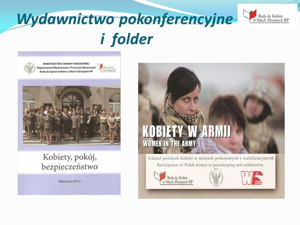 Wydawnictwo pokonferencyjne i folder