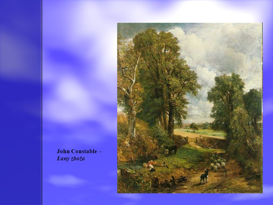 John Constable – Łany zboża