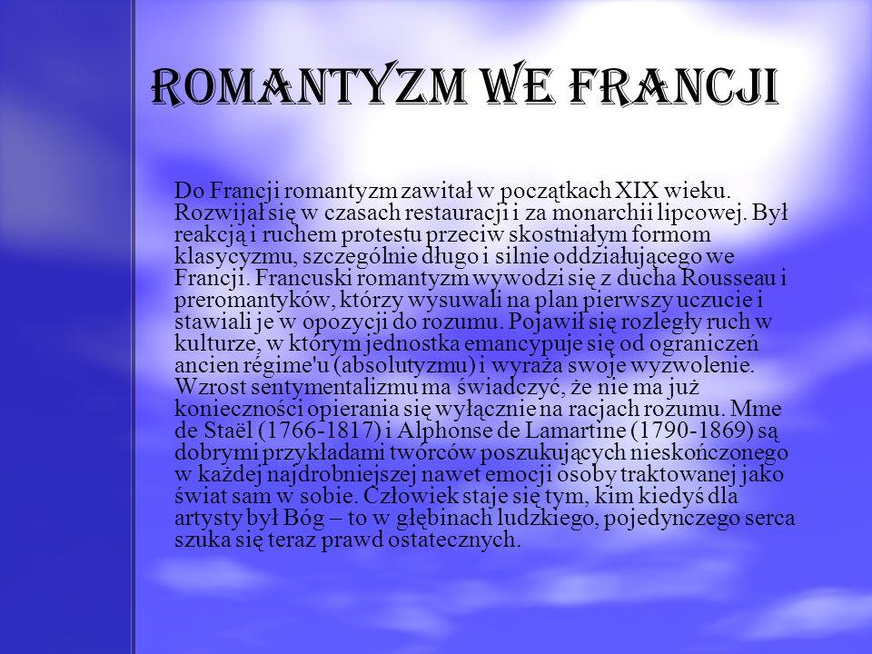 Romantyzm we Francji