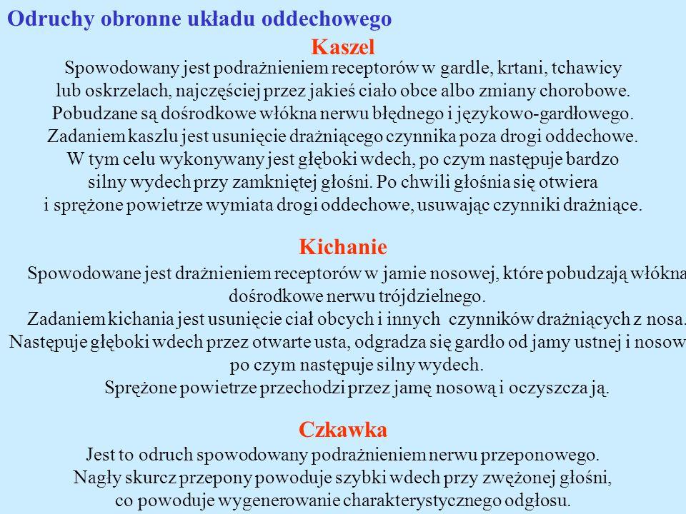 Kaszel Kichanie Czkawka