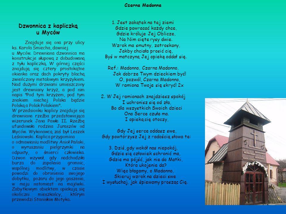 Dzwonnica z kapliczką u Myców