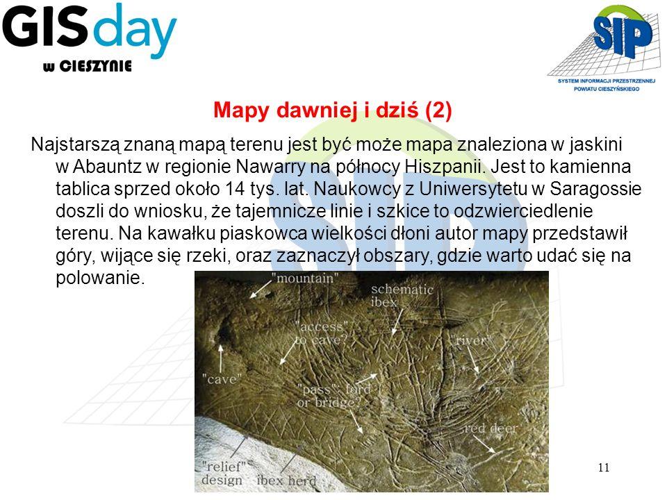 Mapy dawniej i dziś (2)