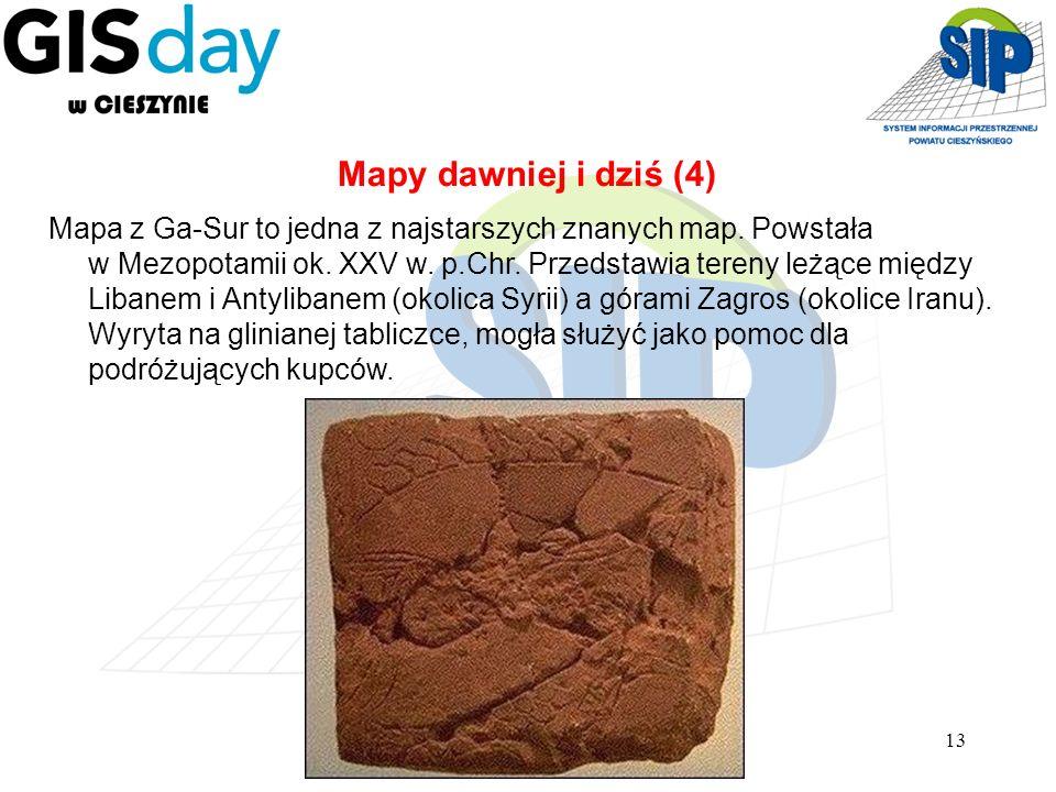 Mapy dawniej i dziś (4)