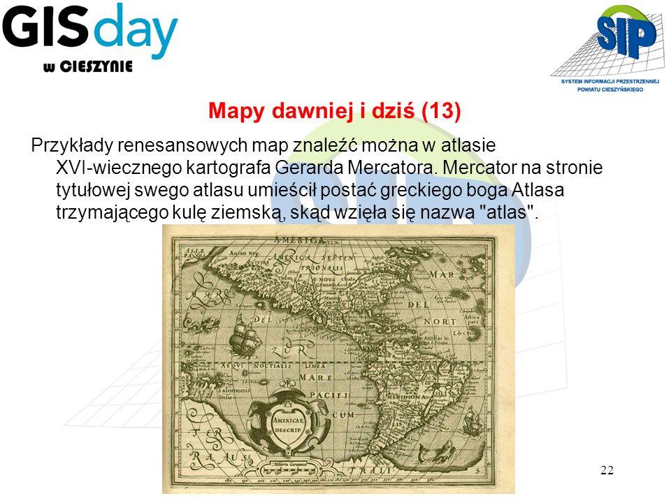Mapy dawniej i dziś (13)