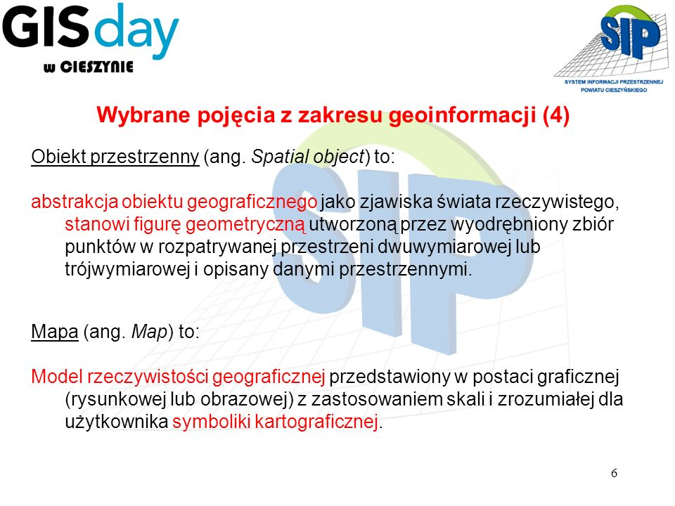Wybrane pojęcia z zakresu geoinformacji (4)