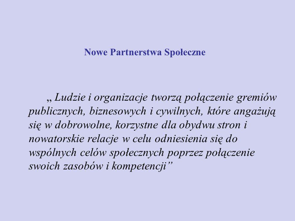 Nowe Partnerstwa Społeczne