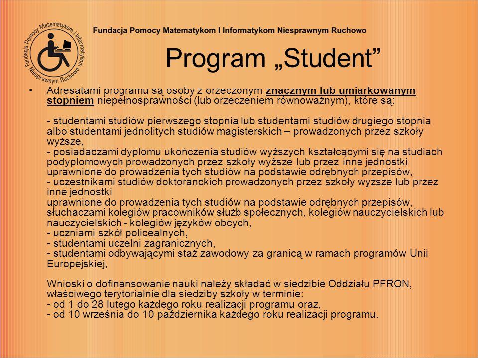 "Program ""Student"
