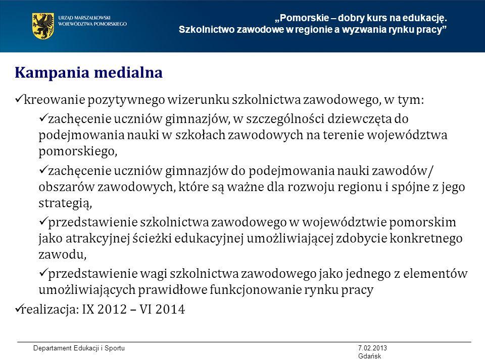 """""""Pomorskie – dobry kurs na edukację"""