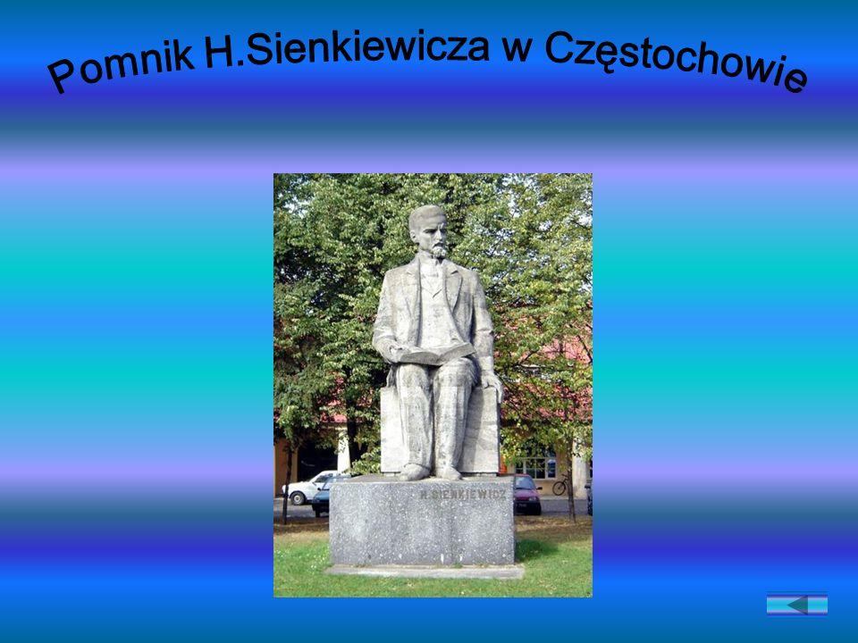 Pomnik H.Sienkiewicza w Częstochowie