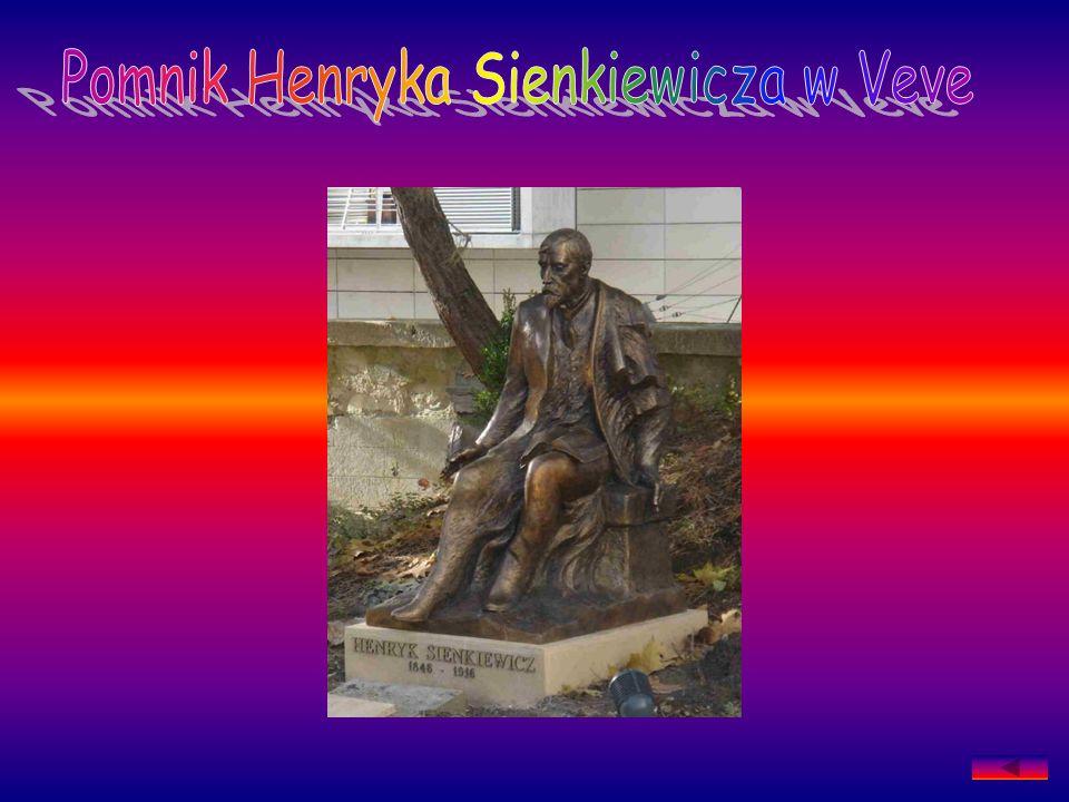 Pomnik Henryka Sienkiewicza w Veve