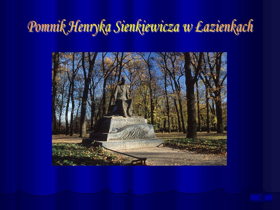 Pomnik Henryka Sienkiewicza w Łazienkach