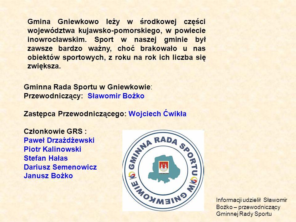 Gminna Rada Sportu w Gniewkowie:
