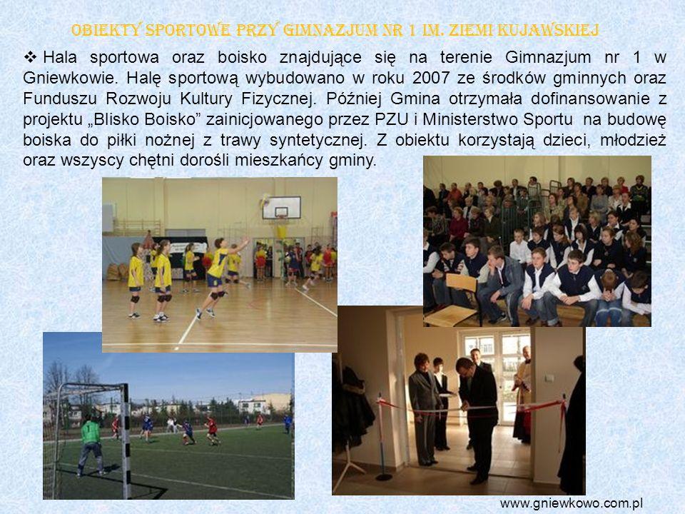 Obiekty sportowe przy Gimnazjum nr 1 im. Ziemi Kujawskiej