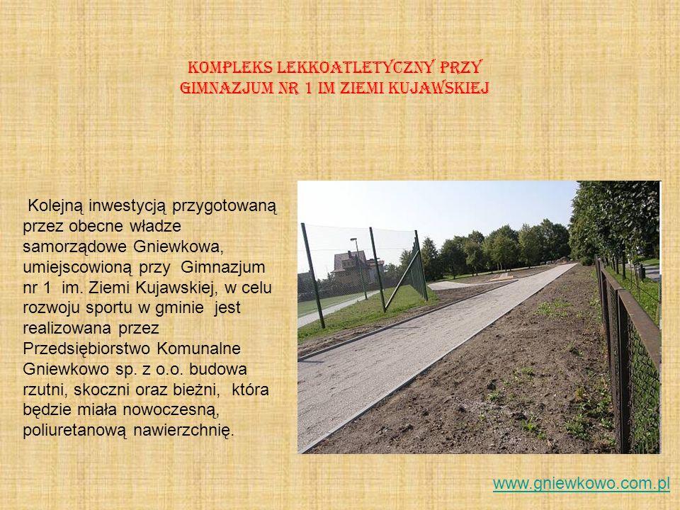 Kompleks lekkoatletyczny przy Gimnazjum nr 1 im Ziemi Kujawskiej