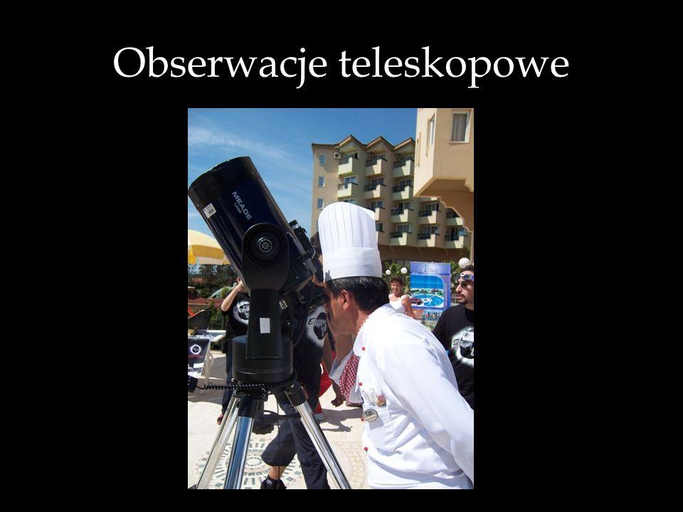 Obserwacje teleskopowe