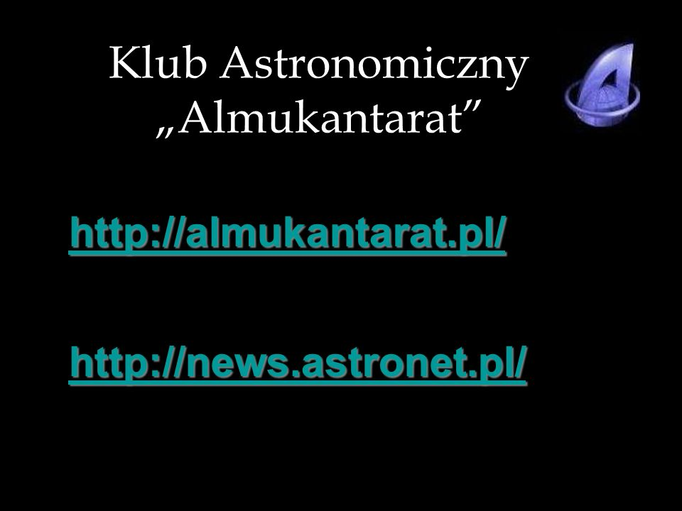 "Klub Astronomiczny ""Almukantarat"