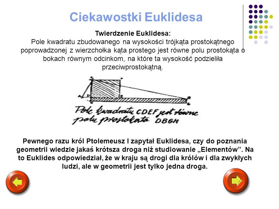 Ciekawostki Euklidesa