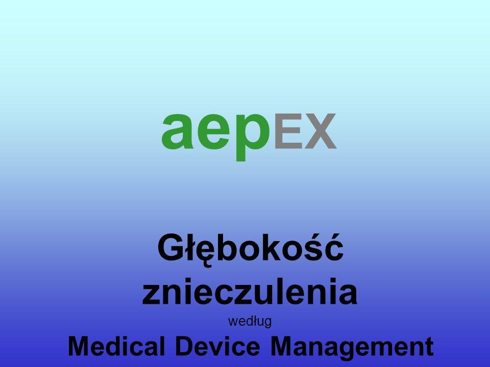Głębokość znieczulenia według Medical Device Management