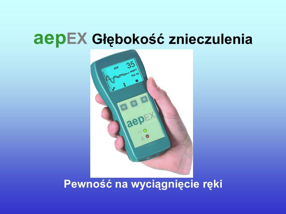 aepEX Głębokość znieczulenia