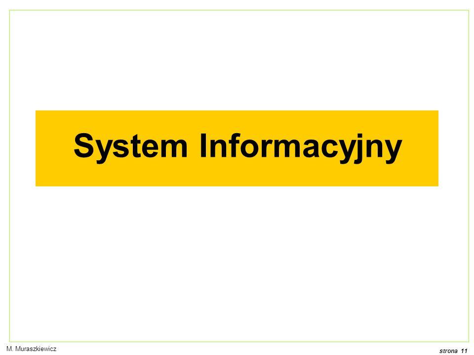 System Informacyjny M. Muraszkiewicz
