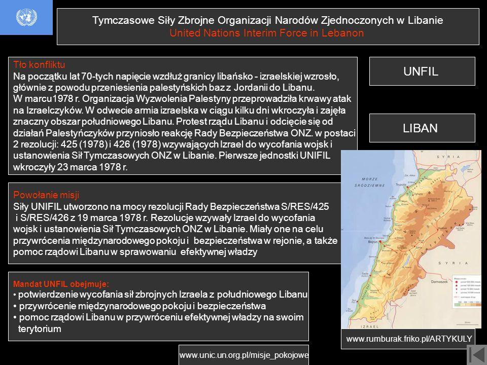 Tymczasowe Siły Zbrojne Organizacji Narodów Zjednoczonych w Libanie