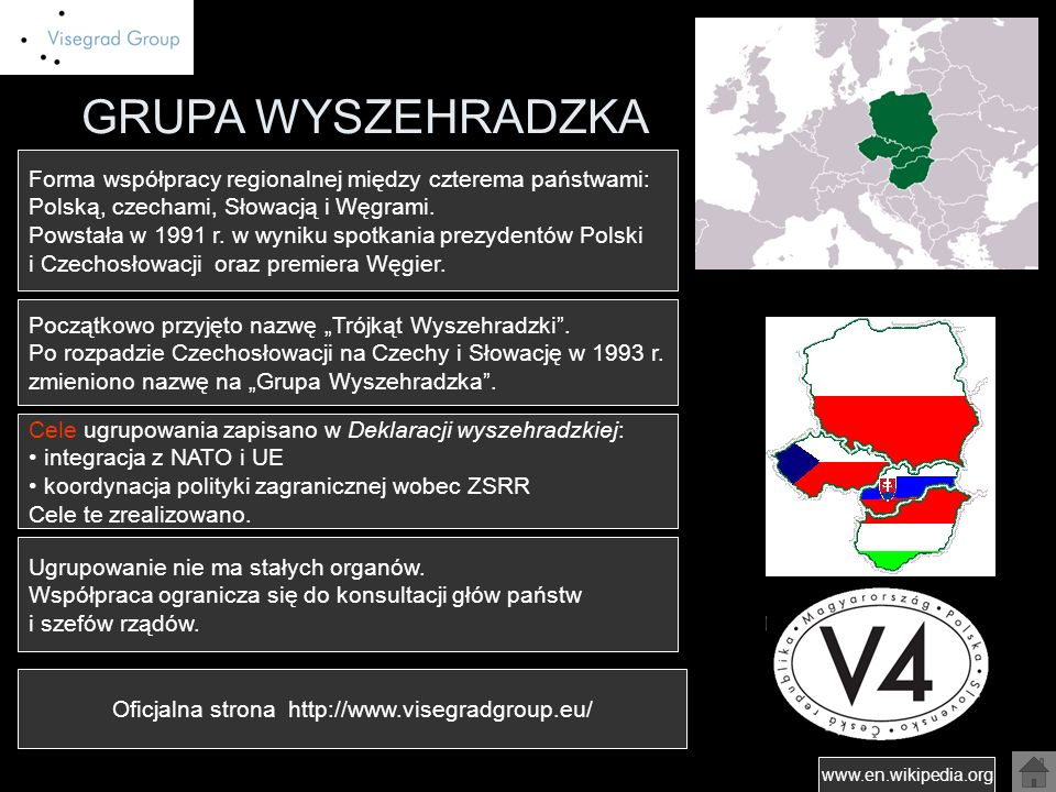 Oficjalna strona http://www.visegradgroup.eu/