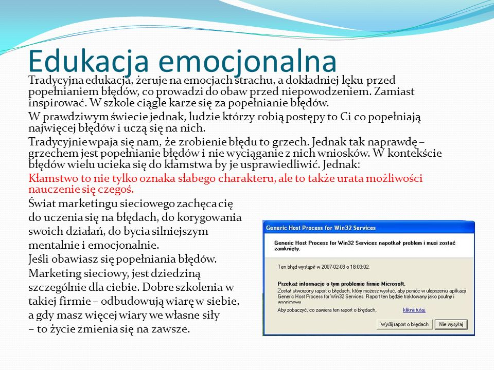 Edukacja emocjonalna