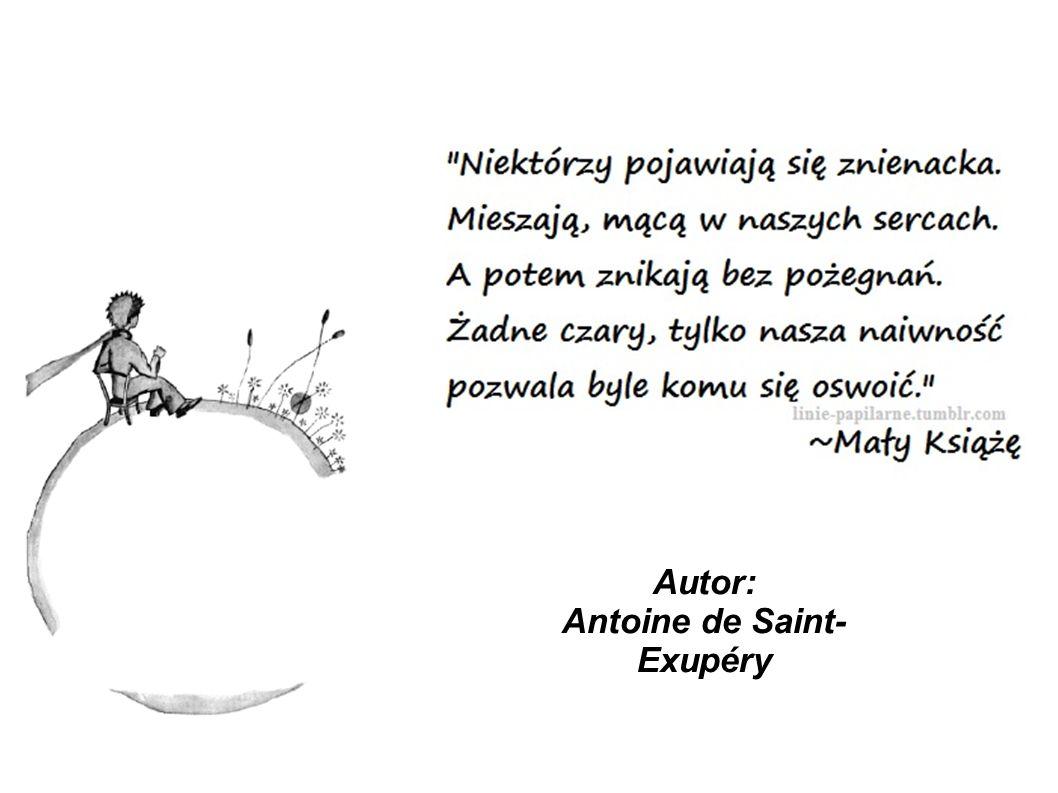 Autor: Antoine de Saint-Exupéry