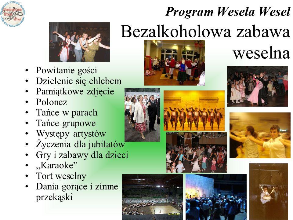 Program Wesela Wesel Bezalkoholowa zabawa weselna