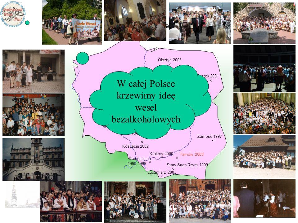 W całej Polsce krzewimy ideę wesel bezalkoholowych