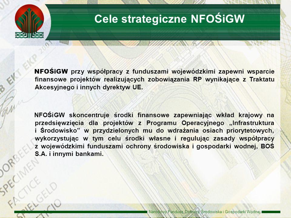 Cele strategiczne NFOŚiGW