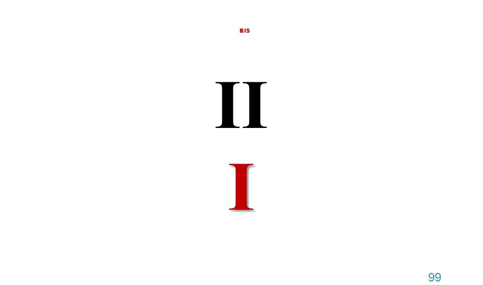 BIS II I 99