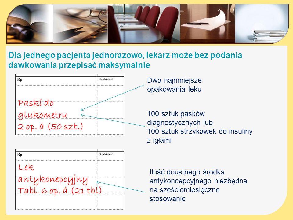 Paski do glukometru 2 op. á (50 szt.) Lek antykonepcyjny