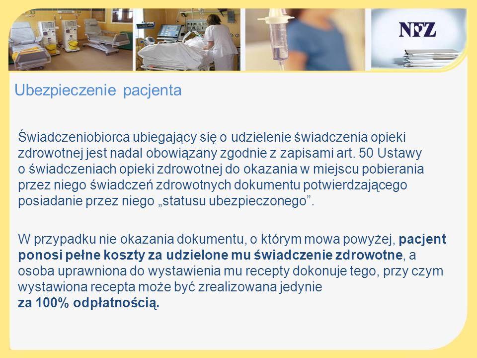 Ubezpieczenie pacjenta