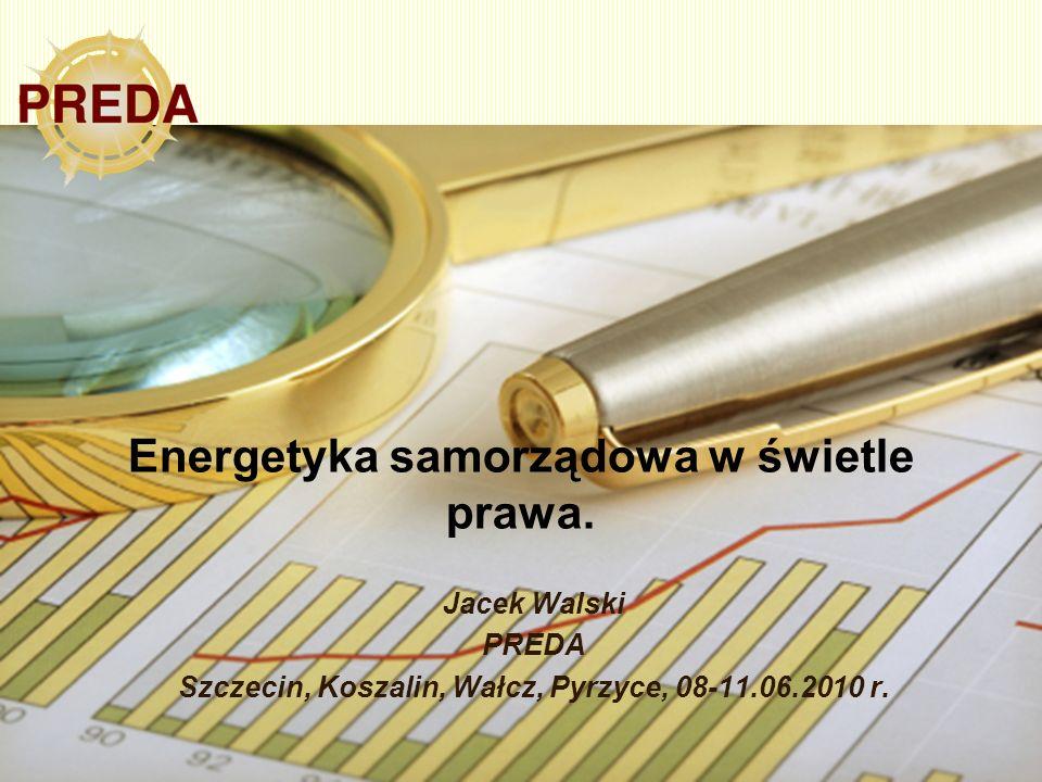 Energetyka samorządowa w świetle prawa.