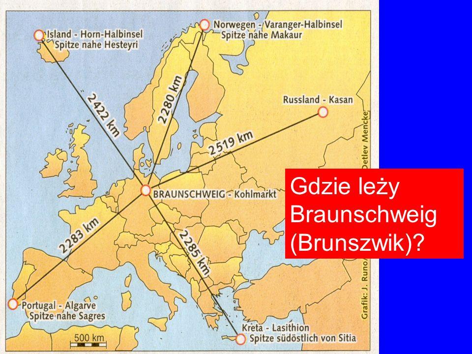 Gdzie leży Braunschweig (Brunszwik)