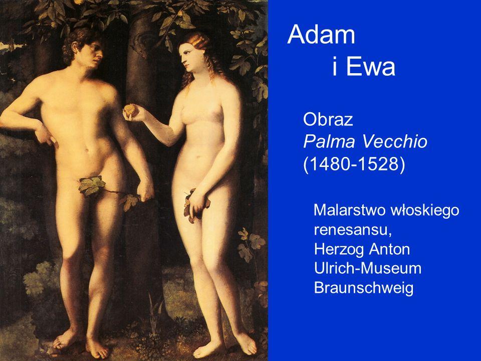 Adam i Ewa Obraz Palma Vecchio (1480-1528)