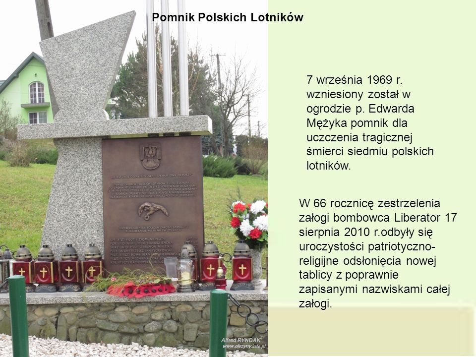Pomnik Polskich Lotników