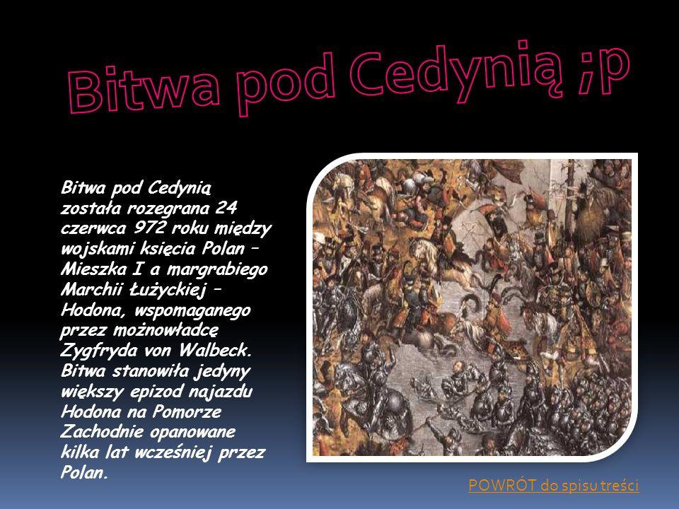 Bitwa pod Cedynią ;p