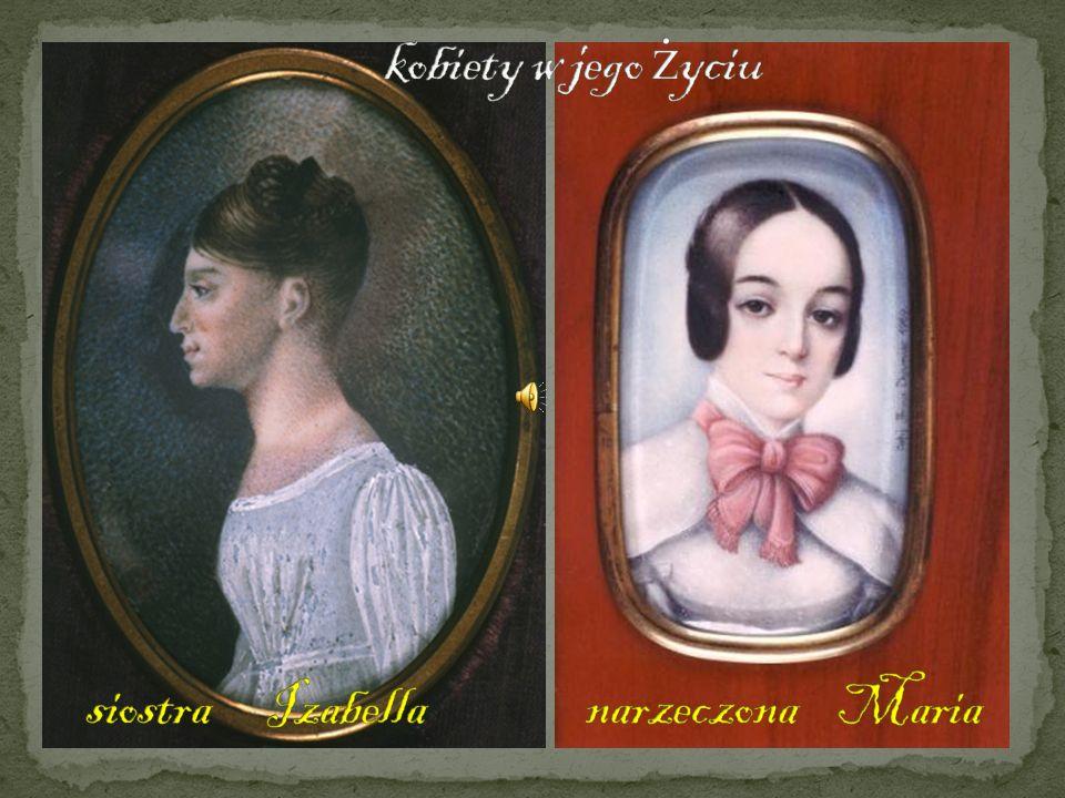 kobiety w jego życiu siostra Izabella narzeczona Maria