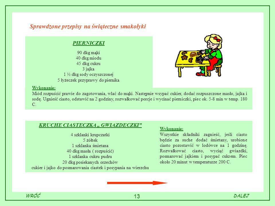 Sprawdzone przepisy na świąteczne smakołyki