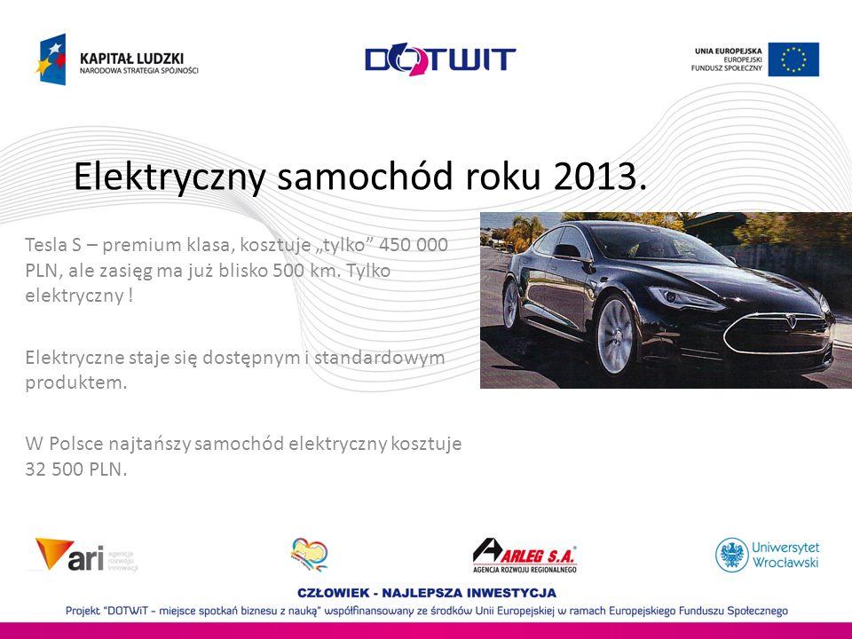 Elektryczny samochód roku 2013.