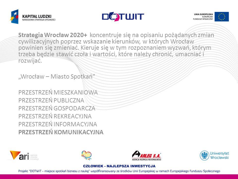 16 gmin (Wrocław + ościenne gminy) 400 000 zarejestrowanych samochodów