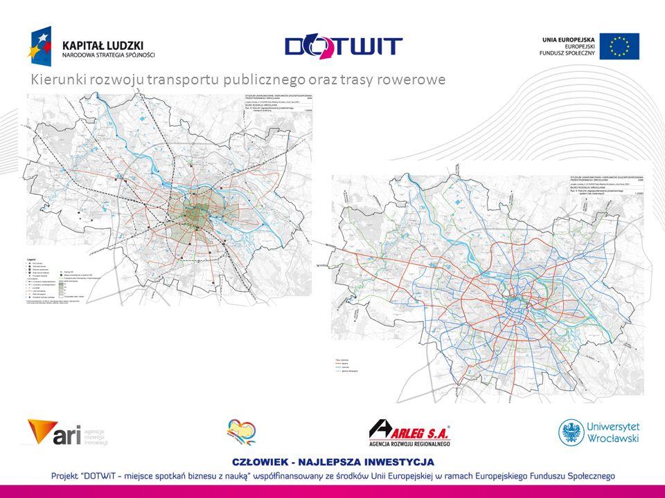Kierunki rozwoju transportu publicznego oraz trasy rowerowe