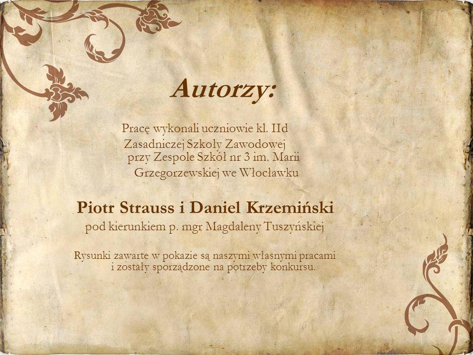 Piotr Strauss i Daniel Krzemiński