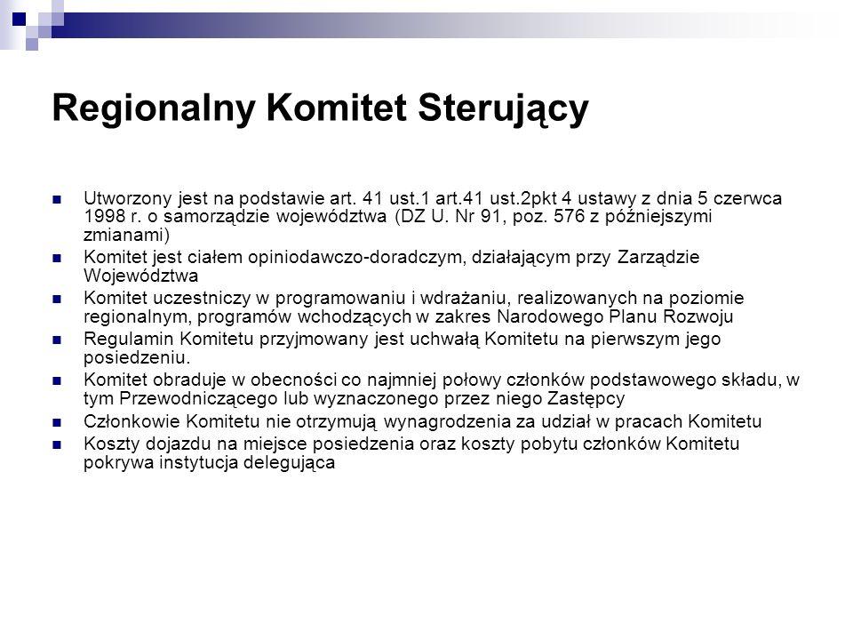 Regionalny Komitet Sterujący