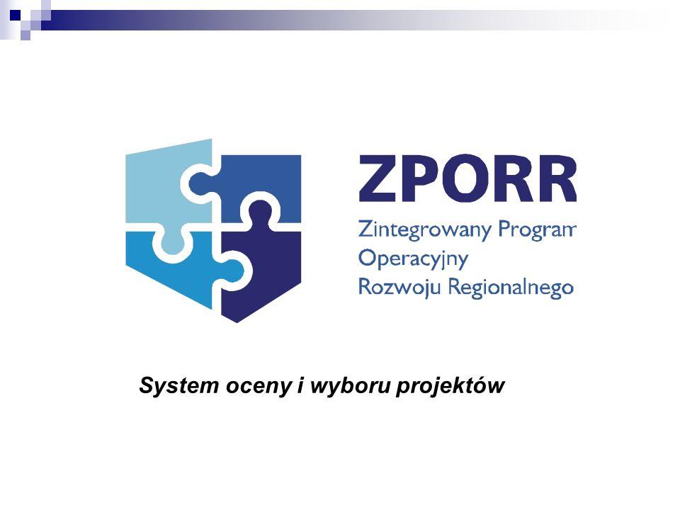 System oceny i wyboru projektów
