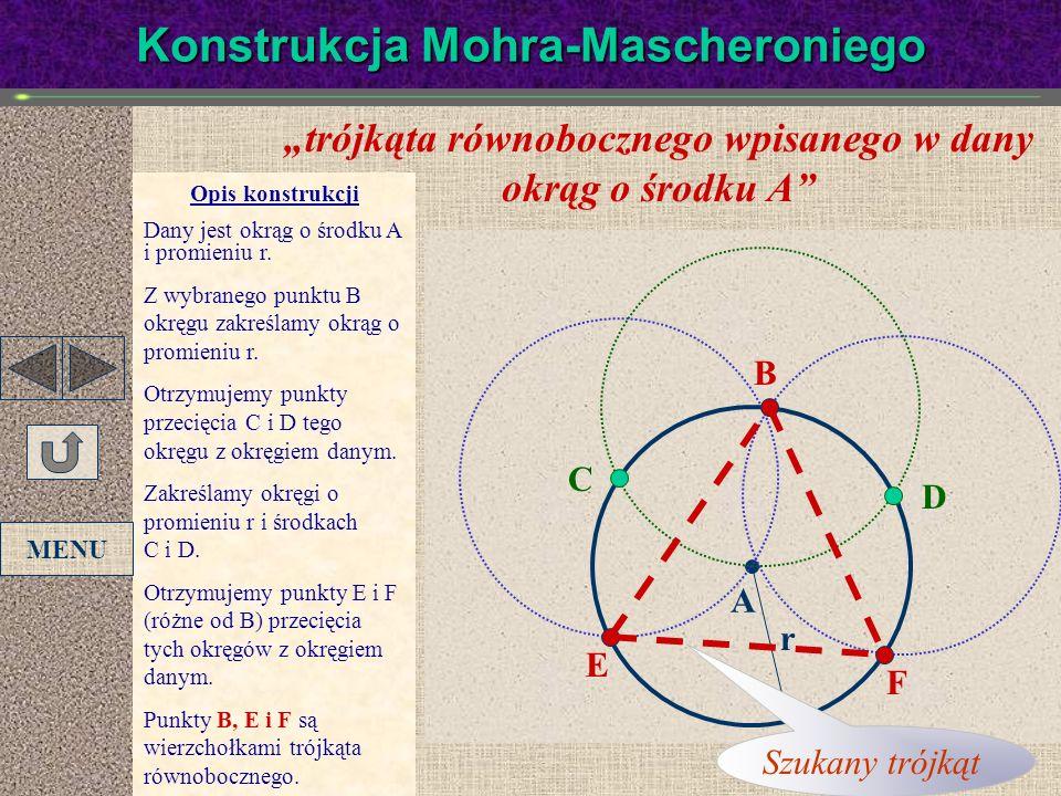 Konstrukcja Mohra-Mascheroniego