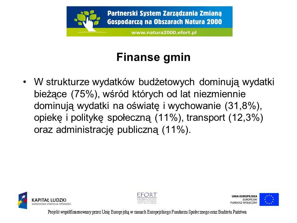 Finanse gmin