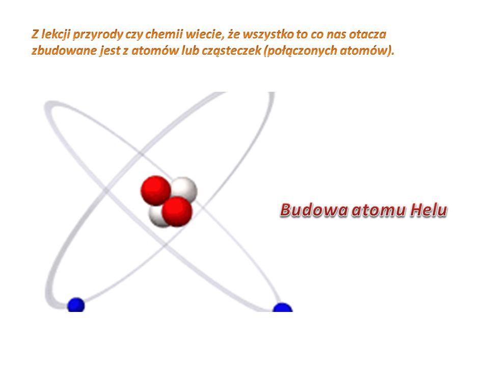 Z lekcji przyrody czy chemii wiecie, że wszystko to co nas otacza zbudowane jest z atomów lub cząsteczek (połączonych atomów).